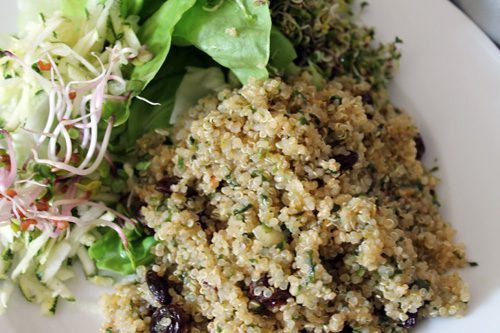 anxiety diet, quinoa