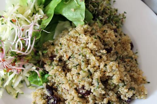 anxiety diet, quinoa
