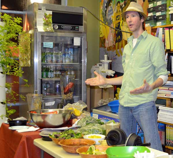 Brian Rossiter, near fruitarian raw food vegan interview