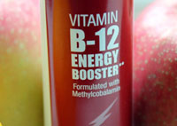 B12 energy vitamin image, natural remedies
