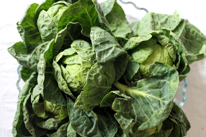 brussels sprout heads, raw food challenge