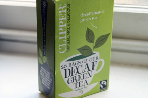 decaf green tea, quitting caffeine