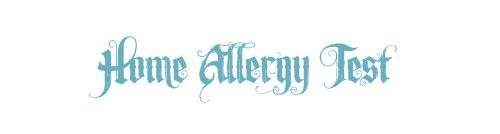home allergy test, pulse test