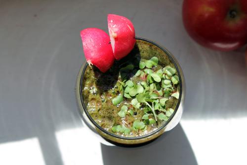 green juice, coriander juice, hormone diet