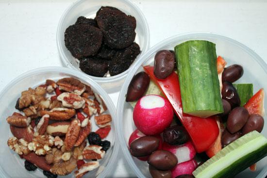 hormone diet snacks, travel snacks