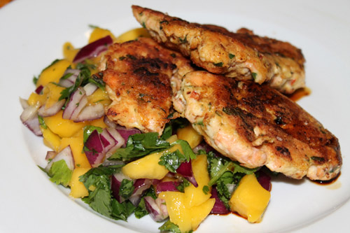 Low Carbohydrate Diet, Salmon Fishcakes