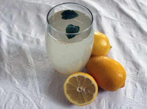 one week raw food diet, lemon water, lemonade