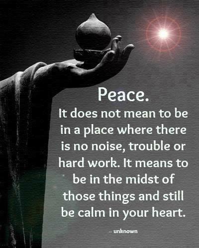 peace and trauma