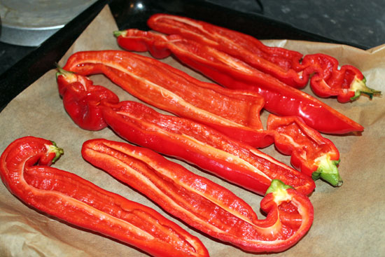 peppers before stuffing image