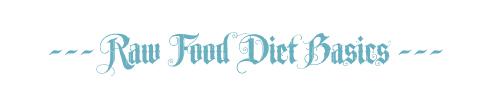 raw food diet basics