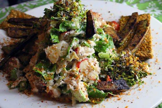 High raw diet week 1 raw food diet cashew salad forumfinder Gallery