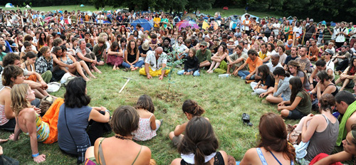 raw food festival in france, conscious festival