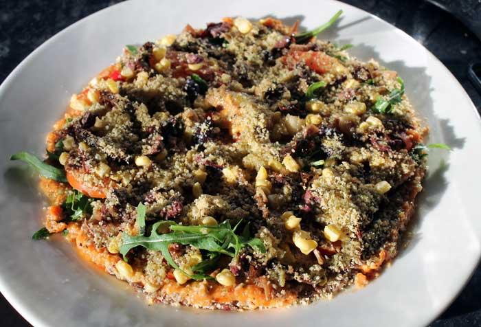 raw food pizza, raw food challenge