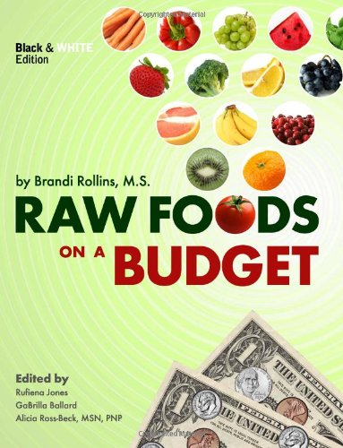 raw foods on a budget book, brandi rollins