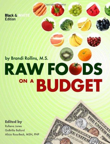 raw foods on a budget book, brandi rollins