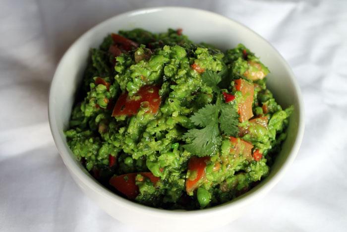 pea chutney, protein chutney, raw food