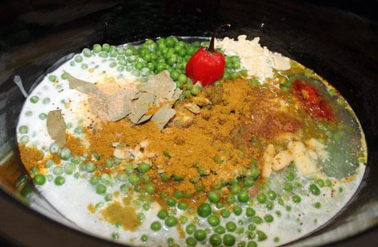 split pea soup slow cooker