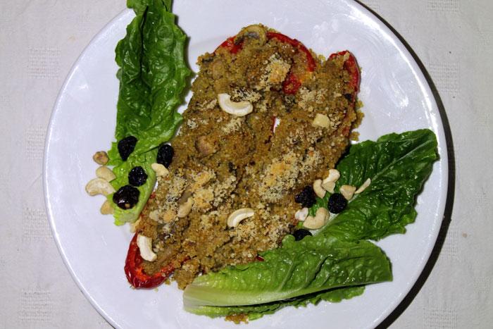 stuffed peppers recipe image