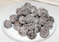 licorice balls snack recipe