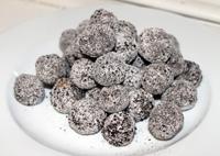 licorice balls snack recipe