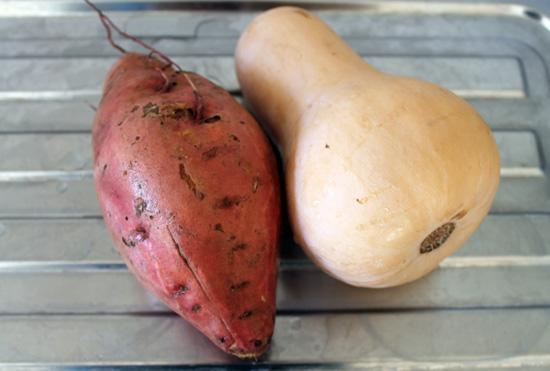 sweet potato pumpkin soup ingredients image